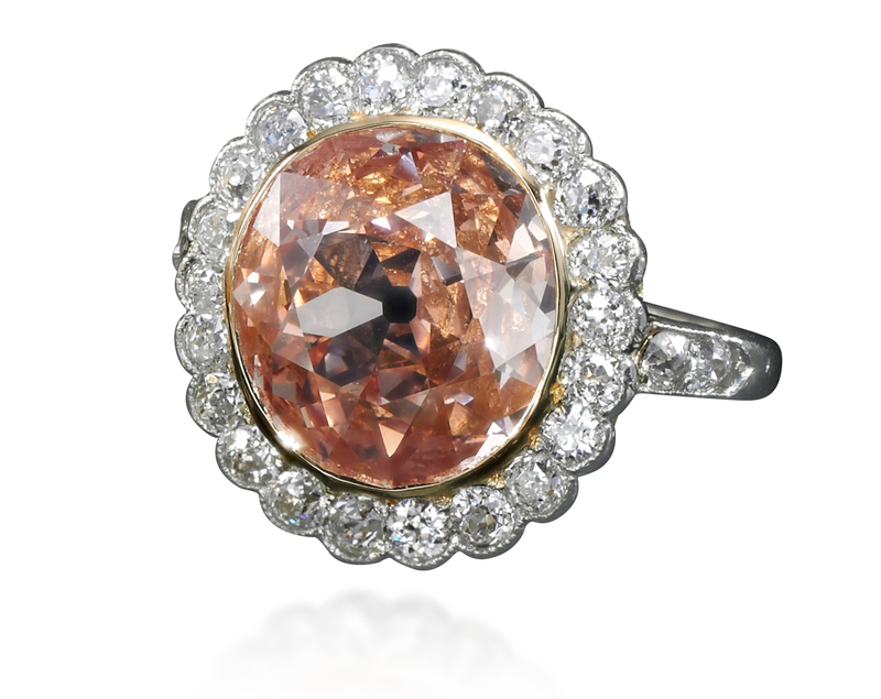 Pink diamond ring - Royal Jewels from the Bourbon Parma Family - Sotheby's November 2018