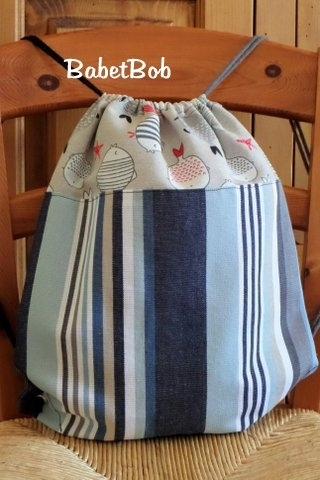 sacs marins faits main en tissu (3)