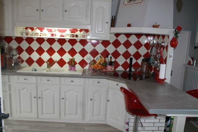 relooking d 39 une cuisine avec le b ton cir et la peinture cru produits eleonore d co. Black Bedroom Furniture Sets. Home Design Ideas