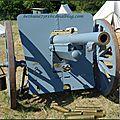Le canon de 75 du fort de Cormeilles