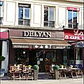 Le salon de thé Delyan à paris