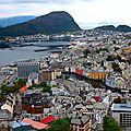 Escapade nordique , <b>Alesund</b> , Norvège