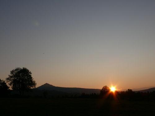 2008 09 27 Le coucher du soleil et le Lizieux
