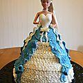 Gâteau poupée