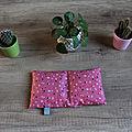 [couture] [les ateliers grenadine et menthe à l'eau - la boutique] des bouillottes sèches.
