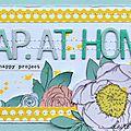 Le blog du jeudi: scrap at home - chez claire