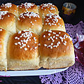 Brioche ultra moelleuse au fromage blanc au thermomix