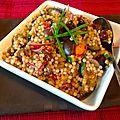 Couscous marocain méditerranée flare!