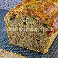 Cake au thon et macédoine de légumes