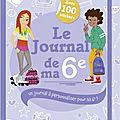 Le <b>jOurnal</b> de ma 6è