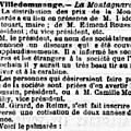 Dimanche 14 Novembre 1897 Distribution des prix de la Société de Tir