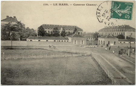 72 - LE MANS - Caserne Chanzy