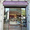 L'eclair des thés paris salon de thé devanture vitrine jeu de mot humour photo