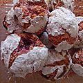 Amarettis aux framboises