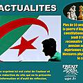 Les victimes algériennes de la guerre d'algérie auront droit à une pension de la france