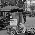 Marrons chauds sur la place Saint-Germain des Prés.