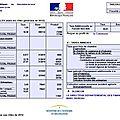 Information sur les différentes impositions locales perçues par les collectivités sur la commune