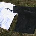 Séchage de nos t-shirts trempés
