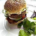 Le falafel burger, veggie, vegan,… mais surtout très bon