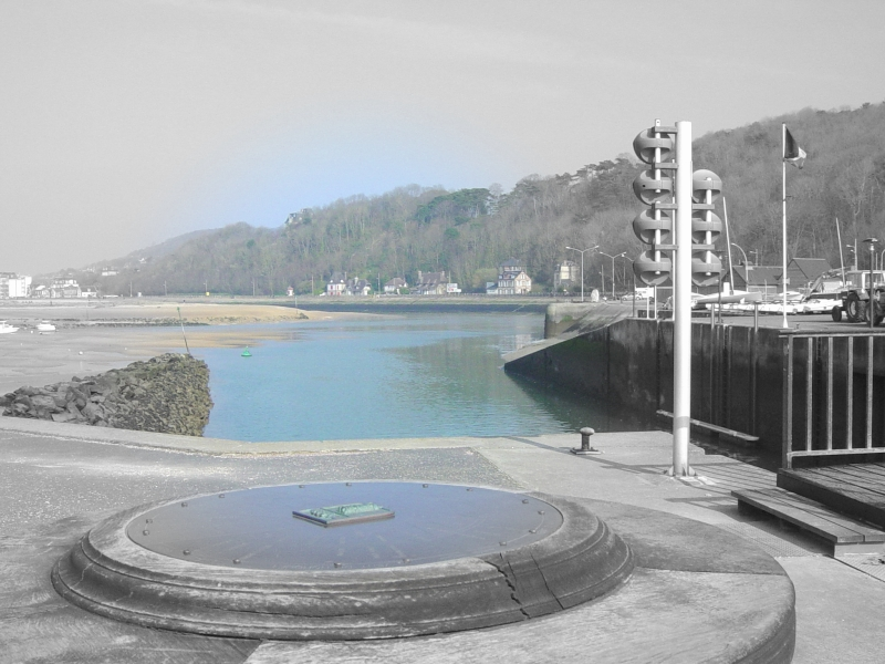 l'embouchure de la DIves, vue de Port Guillaume