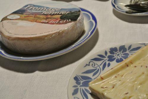 fromages de fermes souvent bio