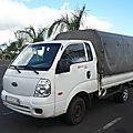 KIA K2500 TCi L50 pick-up baché Le Tampon (1)