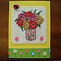 Echange d'atc: thème fleurs