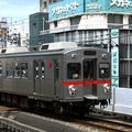 Tôkyû 7700 n°1 (7701) since 1987, Ikegami line, Kamata eki