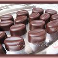 Chocolats aux eclats de café