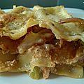 Lasagne poivron ricotta