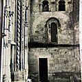 01 Abbaye St Martin de Liguge - église mérovingienne