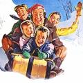 toboggan family 1958