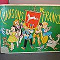 Un ancien <b>album</b> d'images à collectionner ! Sponsorisé par le chocolat Poulain !