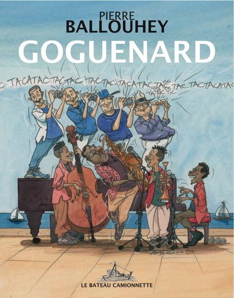 Goguenard, la couverture