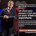 Mélenchon, la Constituante, <b>2022</b>… et tutti quanti