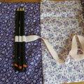 Trousse à crayons en tissu