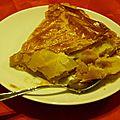 Galette aux pommes et caramel au beurre salé