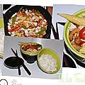 Poulet aux noix de cajou façon wok