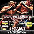 100%fight - <b>CONTENDERS</b> 18 la FIGHT CARD