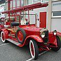 DE DION BOUTON type IS camion de pompiers départ incendie 1923 Hambach (1)