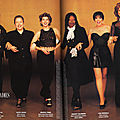 1995, Oscar's Leading Ladies par Herb Ritts pour Vanity Fair