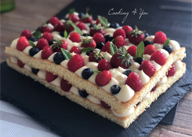 genoise fruits rouge 062