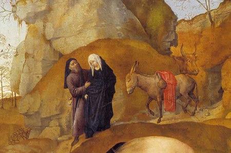 HUGO VAN DER GOES - Retable Portinari - XVè siècle - FLORENCE