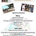 Invitation au méchoui du 15 octobre à Villard-Sallet (73)