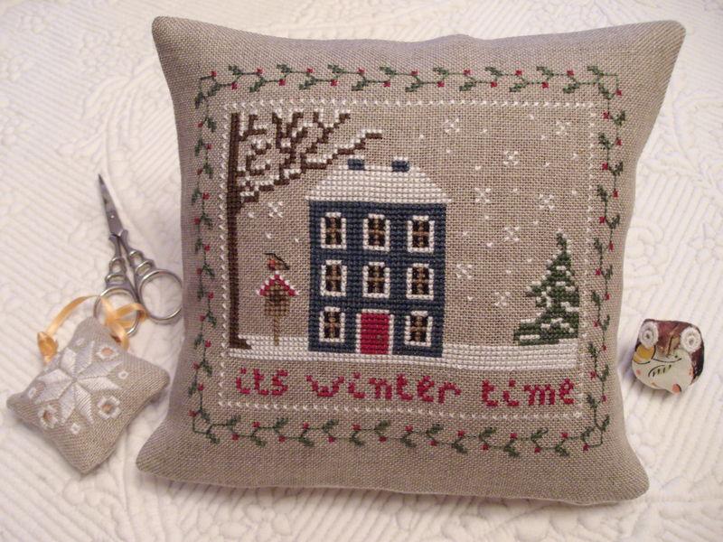 coussinet cottage de saison hiver