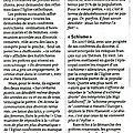 Le monde 05/10/2011