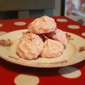 Petites douceurs n°3 : les meringues à la fraise