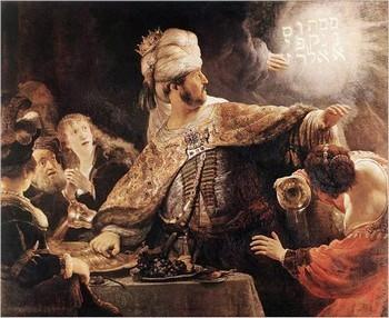 01 - Le festin de Beltschatsar - 1635