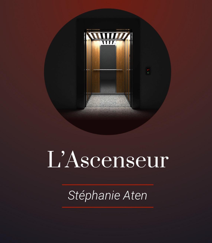 """""""L'ascenseur"""" de Stéphanie Aten aux Éditions Readiktion"""