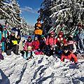Sentheim: découverte de la nature d'hiver en raquettes